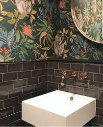 Behang Jungle Toilet Mijn Vtwonen Voorjaarshuis 2019 In 2019