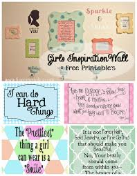 Inspirational Collages Girls Inspiration Collage Wall Free Printable Free Time
