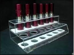 Acrylic Lipstick Holder Plexiglass Lipstick Racks