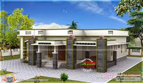 appealing flat house designs 17 home design styles new look of roof single floor kerala