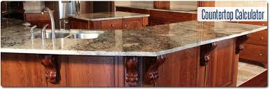 before using the kitchen and bathroom countertop calculator locate the measurements of your existing countertop or find the dimensions on your blueprints