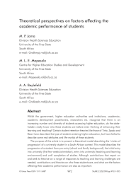 Literature review of financial performance analysis