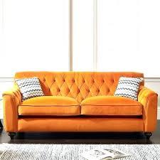 orange sofa velvet burnt ikea