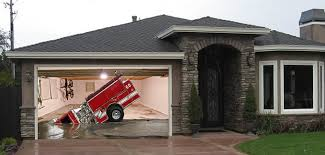 garage door screensSinking Firetruck Garage Door Screen  My Screen Design