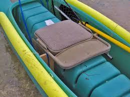 dave s kayak seat folded folding seat down