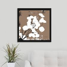 great big canvas taupe money plant by herb inson canvas wall art