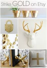 Small Picture Loving these black white and gold home decor pieces from Hobby