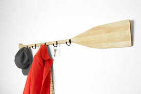 Boat Oar Coat Rack Wall Mounted Oar Coat Rack Wooden Oar With Dadanddaughter Oar Coat 21