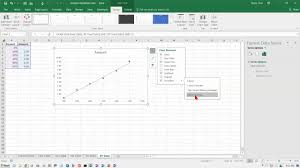 Excel 2016 Creating A Scatter Xy Chart