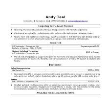 Word Resumes Templates Simple Standard Resume Template Microsoft Word Commily
