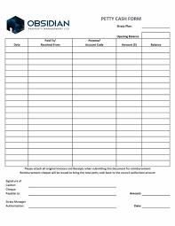 Free Printable Petty Cash Log Template 605