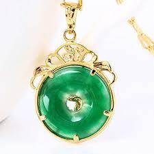 chinese aaa tibet gold green jade