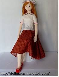 Cloth Doll Patterns Extraordinary The 48 Best Free Doll Patterns