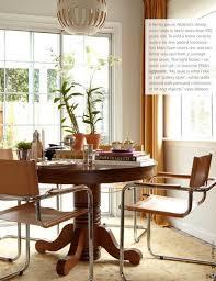 vine oak pedestal table w modern chairs the green room interiors chattanooga tn