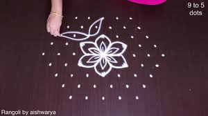 Step By Step Kolam Designs With Dots