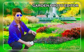 garden photo frames. Garden Photo Frames - Editor HD Poster