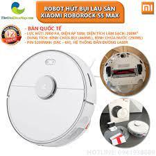 Bản quốc tế] Robot hút bụi lau sàn thông minh Xiaomi Roborock S5 Max - Bảo  hành 12 tháng - Shop Thế Giới Điện Máy Thế giới điện máy - đại lý