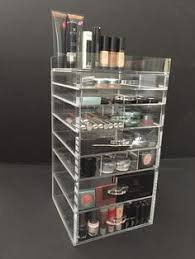 acrylic concepts by jd custom designs 7 drawer sy makeup organizer you can