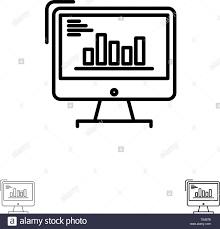 Concept Development Statistics Infographics Black And White