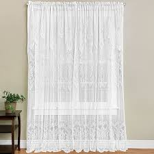 Lace Sheers Interior Marvellous Curtain Sheers With Cute Color For Window