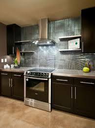 Modern Backsplash For Kitchen Kitchen Design Black Stained Wooden Kitchen Cabinet Fabulous