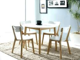 round kitchen table sets dining and chairs dinning modern white s48 table