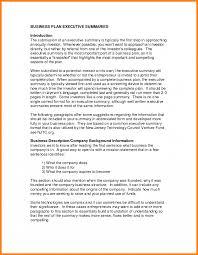 7 Business Plan Executive Summary Example Farmer Resume Sample Pdf
