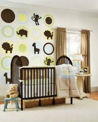 Room Boy Baby Nursery Decor Doll Collection Interior Design Kids Children  Awesome Stunning Curtain Light Brown
