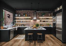 75 Beautiful Industrial Kitchen Pictures Ideas April 2021 Houzz