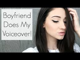my boyfriend does my voiceover everyday makeup tutorial feat corbyn besson beautyee