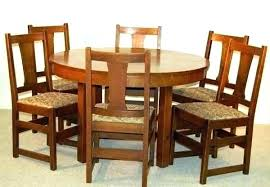 round dining table set 4 chair dining table set small six round mission collection