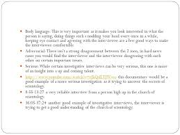 Interview Introduction Christopher Oneill My Interview Analysis Investigative Interview