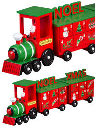 countdown to in style with this cute xmas train advent calendar perfect for s and children