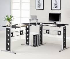 L Shaped Modern Desk Home Design Modern L Shaped Office Desk Ideas Room Designs