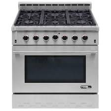 Professional Ovens For Home Nxr Entree 36 In 55 Cu Ft Professional Style Gas Range With