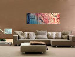 Modern Paintings For Living Room Amazoncom Gardenia Art Red Maples Canvas Prints Wall Art