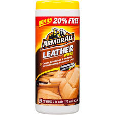 leather protectant wipes 24 count