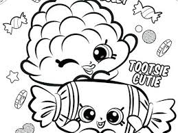 Shopkins Printable Coloring Pages For Download Free Jokingartcom