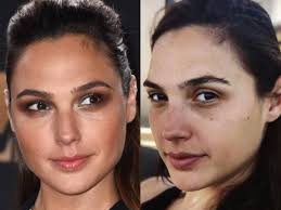 gal gadot celebrity no makeup story