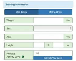 Nhs Height And Weight Chart Body Weight Planner Niddk