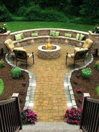 patio seating wall best outdoor fire pit ideas to have the ultimate backyard getaway patio seating patio seating wall patio wall ideas