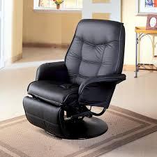 the recliner chair swivel rocker recliner black leather recliner chair