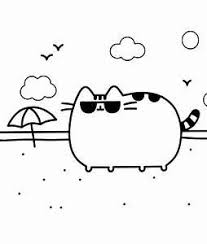 Pusheen Coloring Pages To Print Yahoo Image Search Results