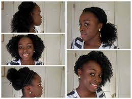 Natural Black Hairstyle For Medium Hair 5 Back To School