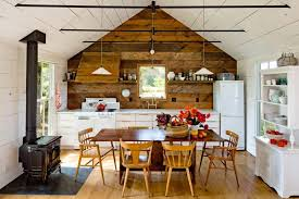barn wood wall decor for dining rooms idea