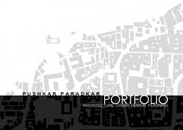 Architecture Urban Design Urban Planning Portfolio by Pushkar