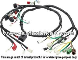 wiring harness glamour ks swiss motorcycle parts for hero honda JVC Harness Diagrams for Honda Civic Si click to zoom image of wiring harness glamour ks swiss