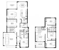 Skillful Design 4 Bedroom House Plans Double Story 3 Storey On Modern Decor  Ideas