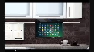 beautiful decoration under cabinet mount tv for kitchen eidola under cabinet 17 smart tv you for