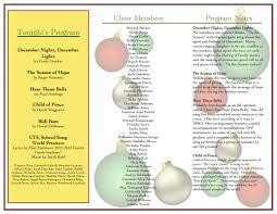 December Nights December Lights Song Cte Music Cte Choir